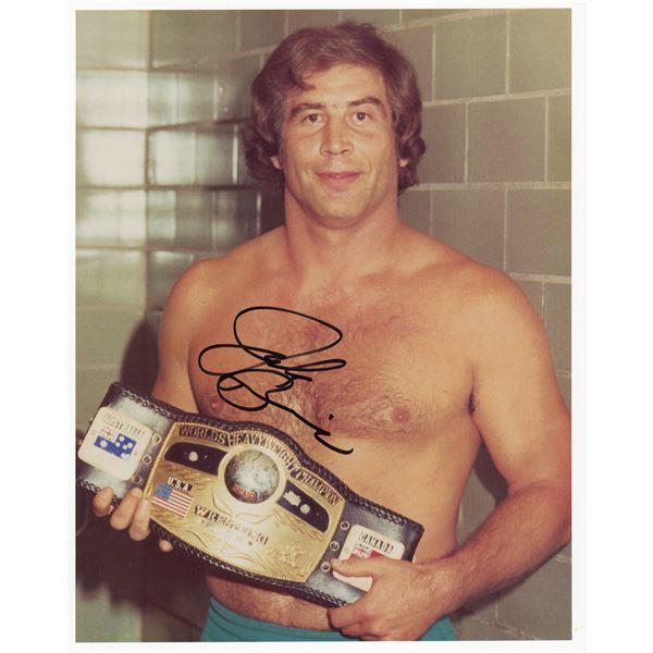 Jack Brisco signed photo