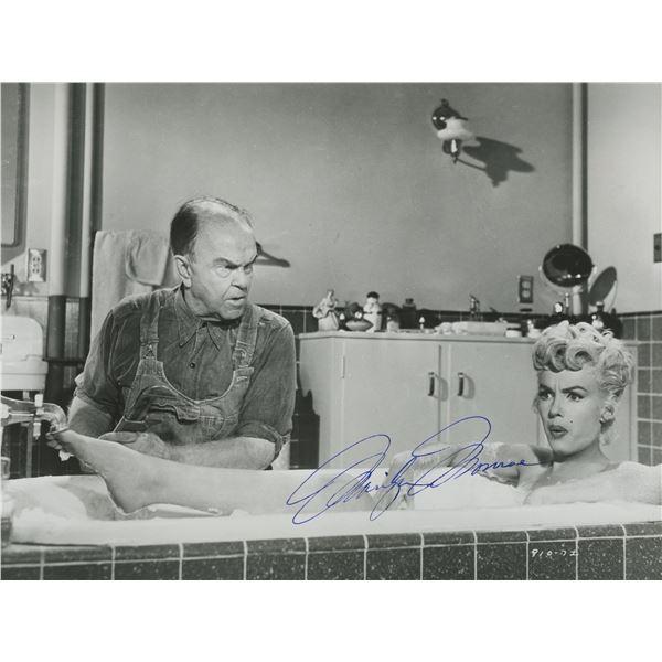 Marilyn Monroe signed photo