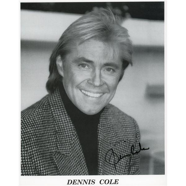 Dennis Cole signed photo