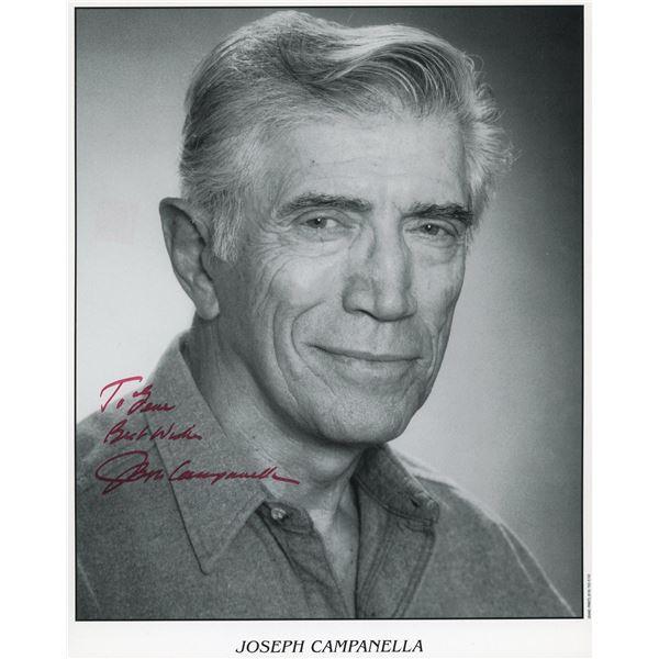 Joseph Campanella signed photo