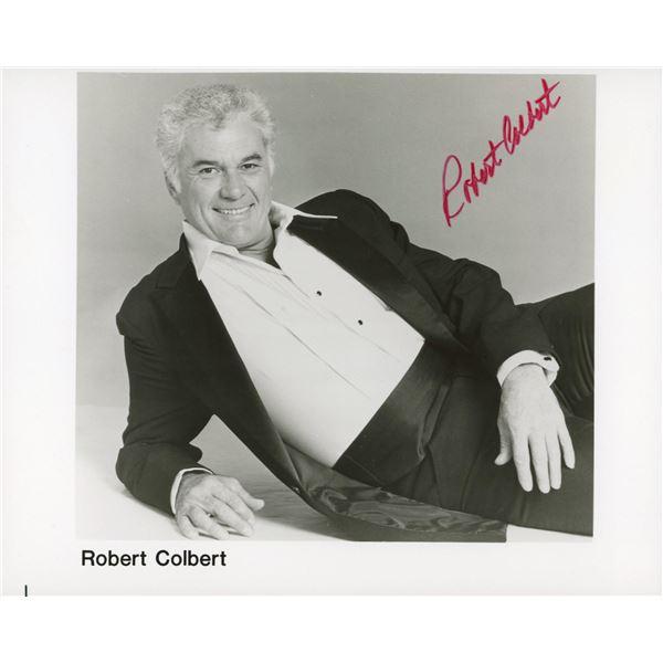 Robert Colbert signed photo