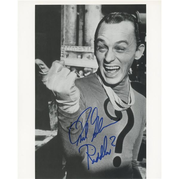 The Riddler signed photo