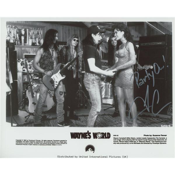 Wayne's World signed movie photo