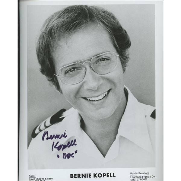 """Bernie Kopell """"The Love Boat"""" signed photo"""