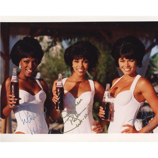 The Uh-Huh Girls signed photo