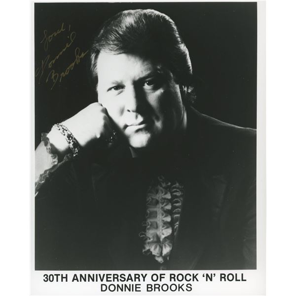 Donnie Brooks signed photo