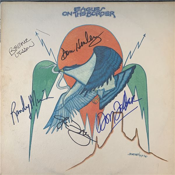 The Eagles On The Border signed album