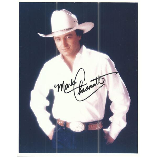 Mark Chesnutt signed photo