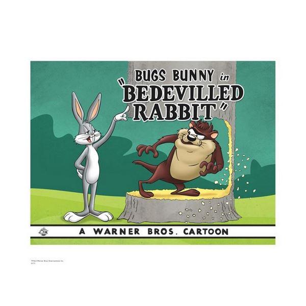 Warner Brothers Hologram Be Devilled Rabbit