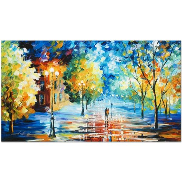 """Leonid Afremov (1955-2019) """"Expansive Canopy"""" Limited Edition Giclee on Canvas,"""