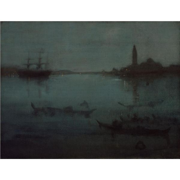 Whistler - Nocturne in Blue and Silver - The Lagoon