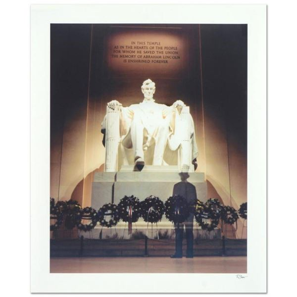 """Robert Sheer, """"Young Mr. Lincoln"""" Limited Edition Single Exposure Photograph, Nu"""