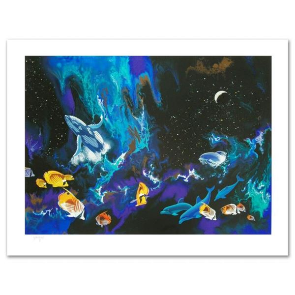 """""""Moondance"""" Limited Edition Serigraph by William Schimmel, Numbered and Hand Sig"""