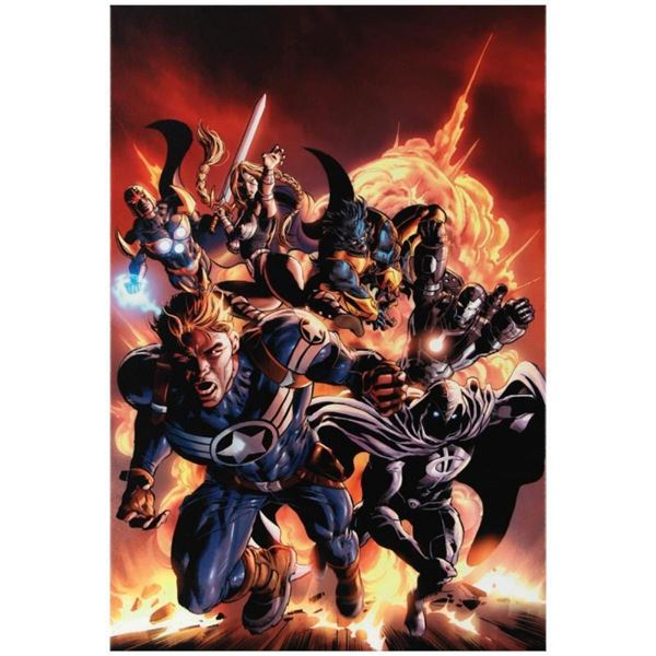 """Marvel Comics """"Secret Avengers #2"""" Numbered Limited Edition Giclee on Canvas by"""