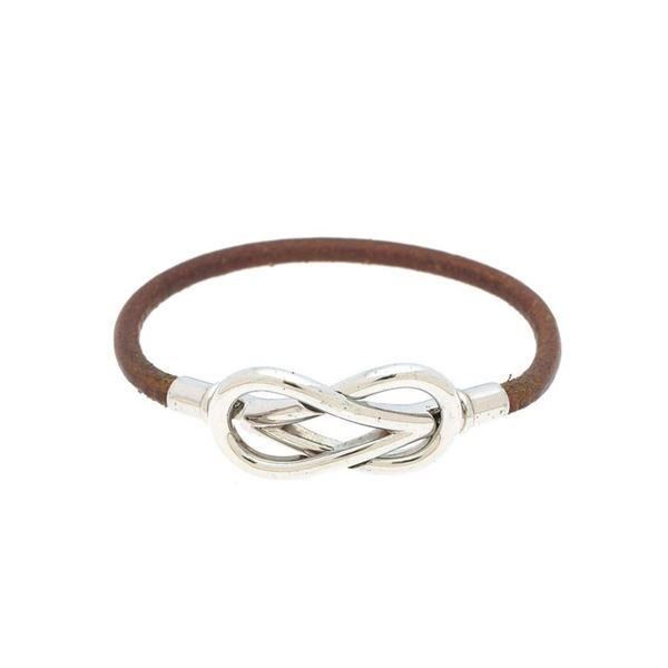 Hermes Tone Atame Bracelet 16c