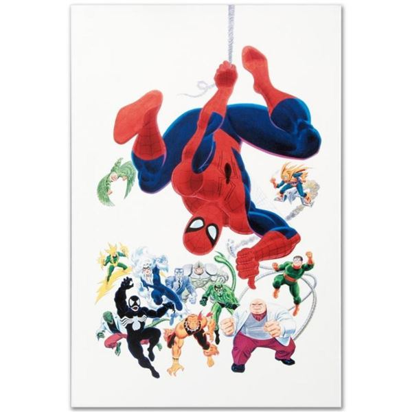 """Marvel Comics """"Marvel Visionaries"""" Numbered Limited Edition Giclee on Canvas by"""