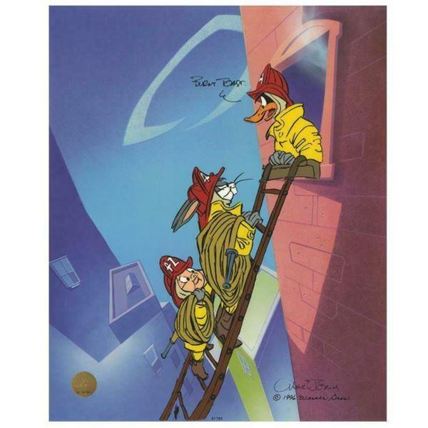 "Chuck Jones ""Burnt Toast"" Hand Signed, Hand Painted Limited Edition Sericel."