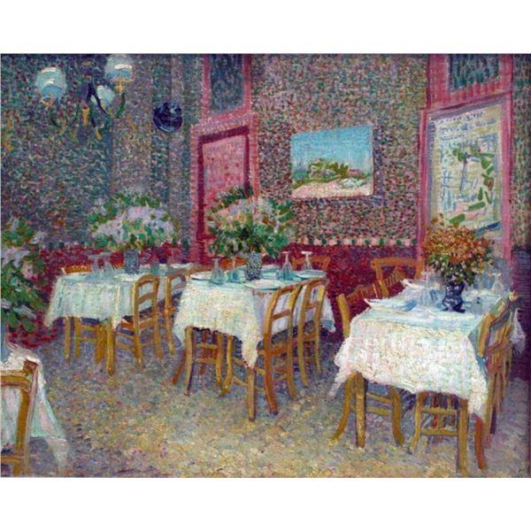 Van Gogh - Interior Of A Restaurant