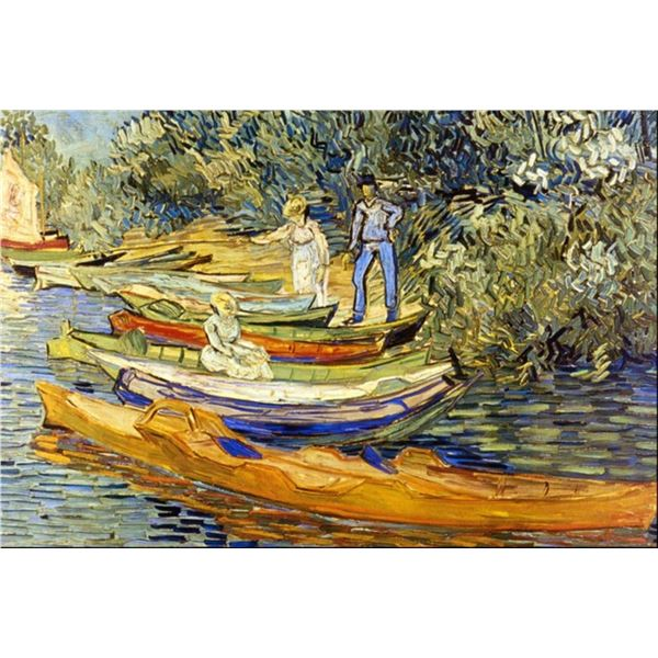 Van Gogh - The Riverbank, La Grenouillere
