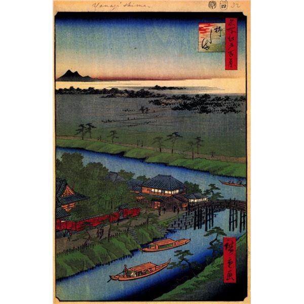Hiroshige  - Yanagishima