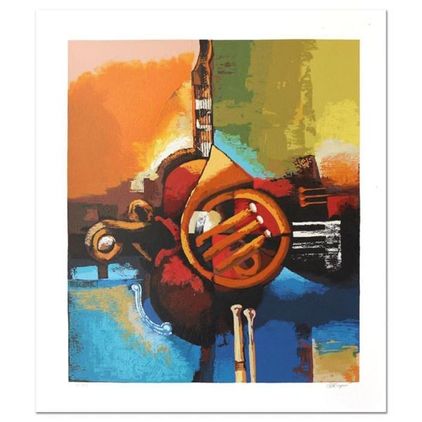 """Igor Kovalev, """"Symphony II"""" Hand Signed Limited Edition Serigraph with Letter of"""