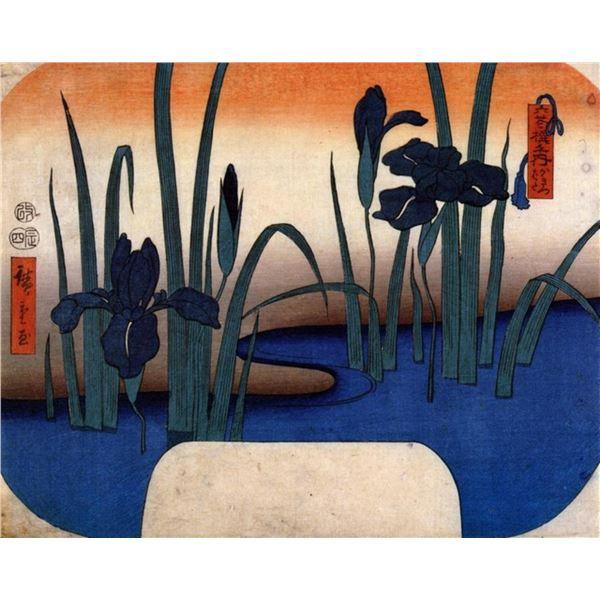 Hiroshige Lilies