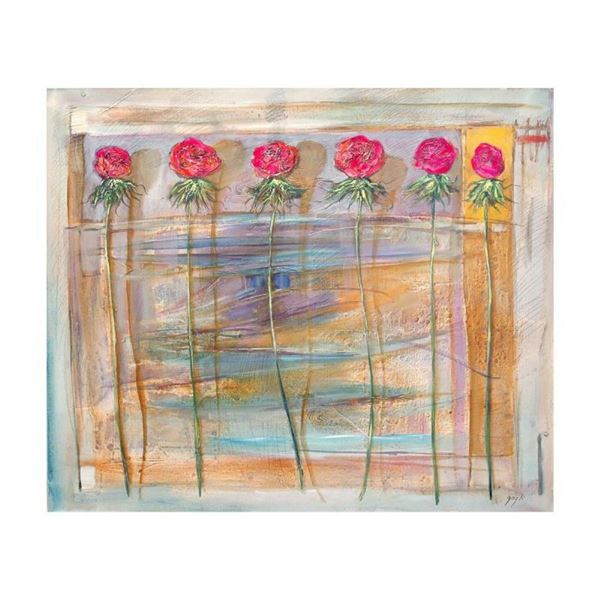 """Lenner Gogli, """"Vibrant Delight"""" Limited Edition on Canvas, Numbered and Hand Sig"""