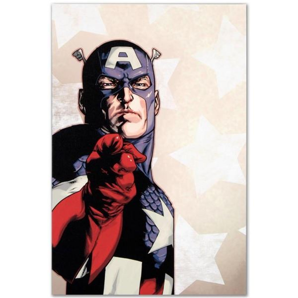 """Marvel Comics """"New Avengers #61"""" Numbered Limited Edition Giclee on Canvas by St"""