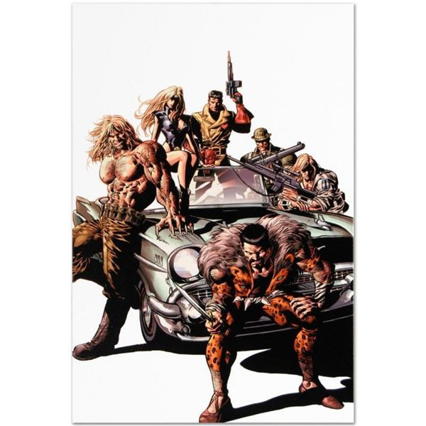 """Marvel Comics """"New Avengers #10"""" Numbered Limited Edition Giclee on Canvas by Mi"""