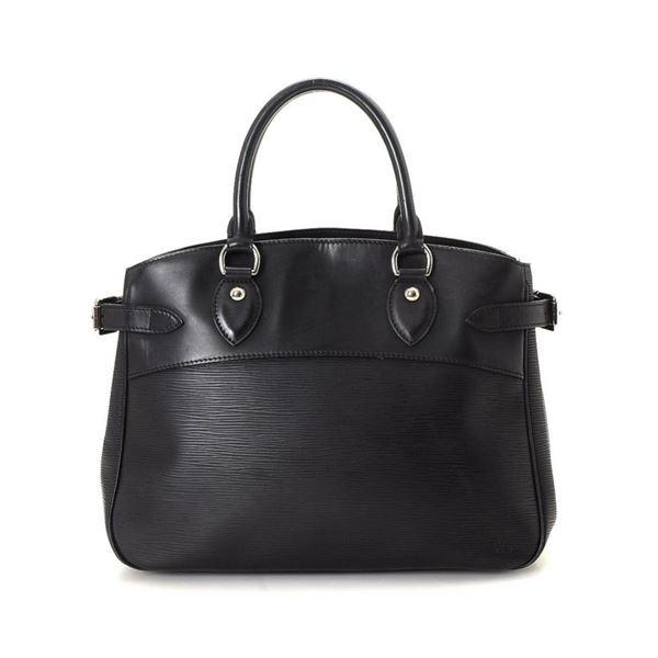 Louis Vuitton Black Passy PM Tote Bag