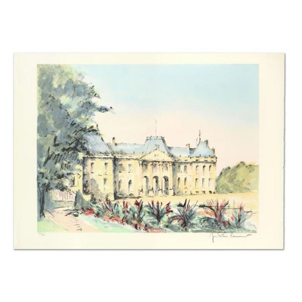 """Laurant, """"Chateu Leunville"""" Limited Edition Lithograph, Numbered and Hand Signed"""