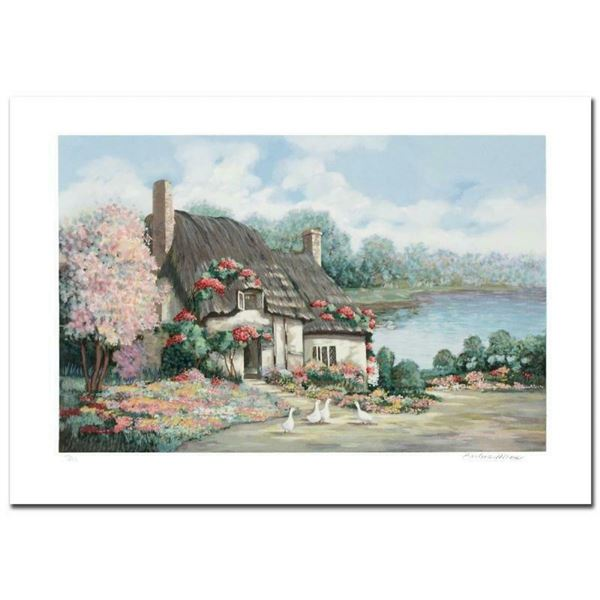 """""""Sussex I"""" Limited Edition Serigraph by Earlene Moses, Numbered and Hand Signed"""