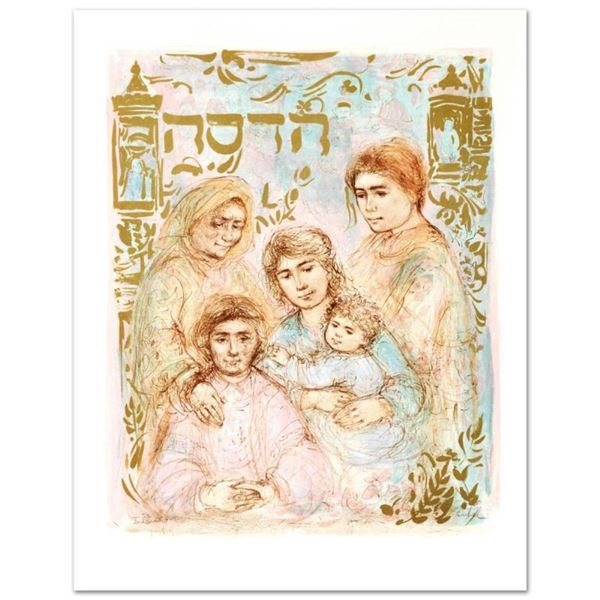 """""""Hadassah, The Generation"""" Limited Edition Lithograph by Edna Hibel, Numbered an"""
