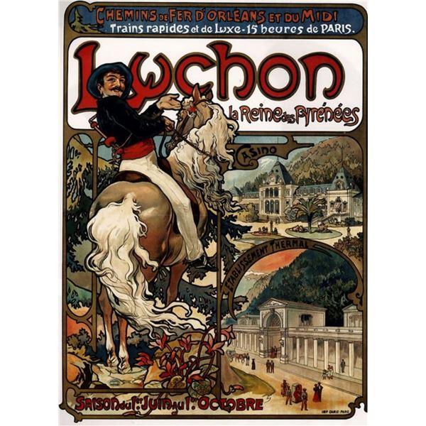 Alphonse Mucha - Luchon