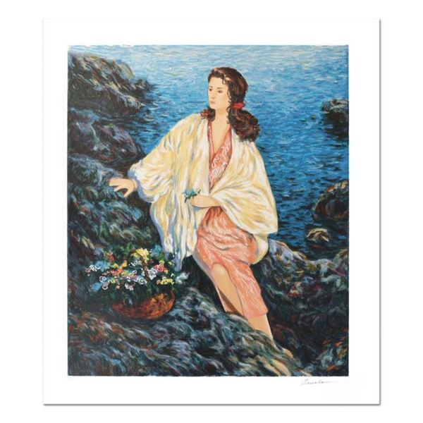 """Igor Semeko, """"Beauty by the Seaside"""" Hand Signed Limited Edition Serigraph with"""