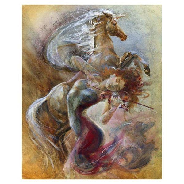 """Lena Sotskova, """"Free Spirit"""" Hand Signed, Artist Embellished Limited Edition Gic"""