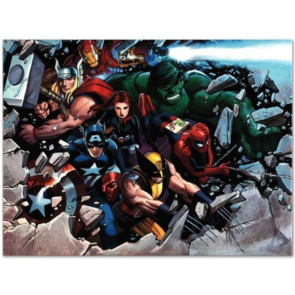 """Marvel Comics """"Son of Marvel: Reading Chronology"""" Numbered Limited Edition Gicle"""