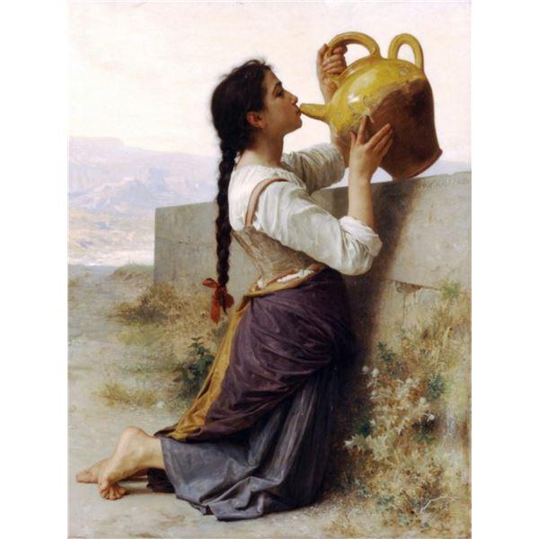William Bouguereau - Thirst