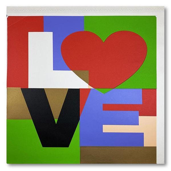 LOVE by Steve Kaufman (1960-2010)