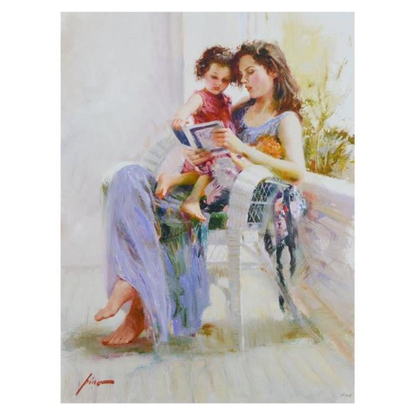 """Pino (1939-2010), """"Book of Poems"""" Limited Edition Artist-Embellished Giclee on C"""