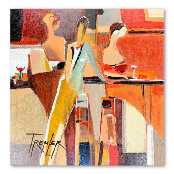 Yuri Tremler, Hand Signed Limited Edition Serigraph on Board with Letter of Auth