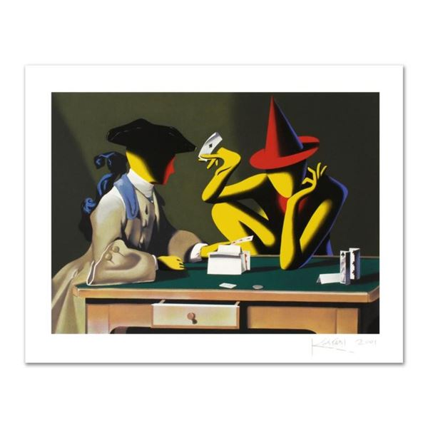 """Mark Kostabi, """"Chance Encounter"""" Limited Edition Serigraph, Numbered and Hand Si"""