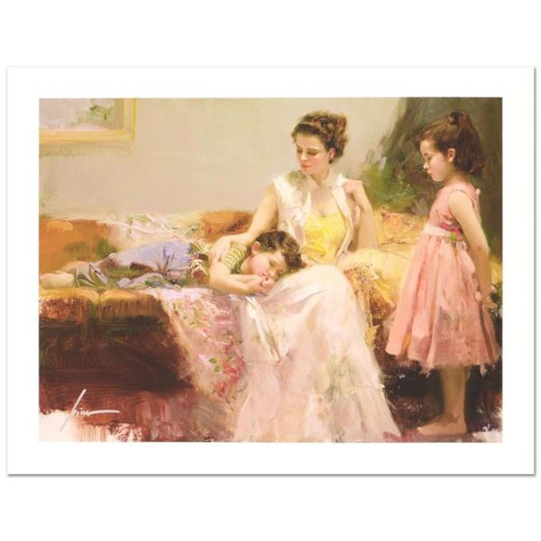 """Pino (1939-2010) """"A Soft Place In My Heart"""" Limited Edition Giclee. Numbered and"""