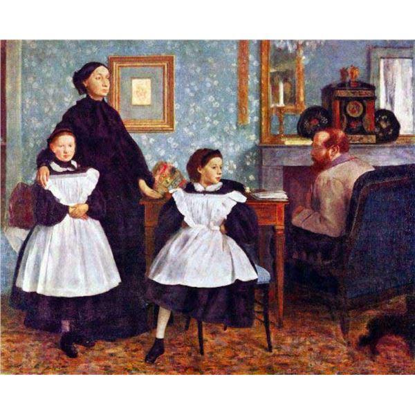 Edgar Degas - Portait Of The Bellelli Family