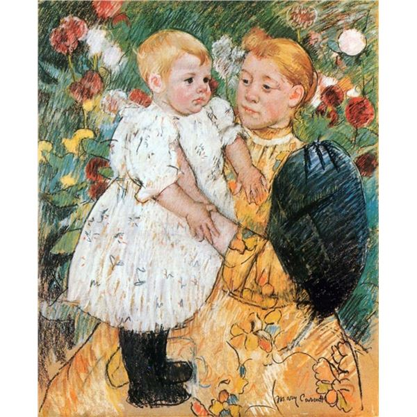 Mary Cassatt - In The Garden