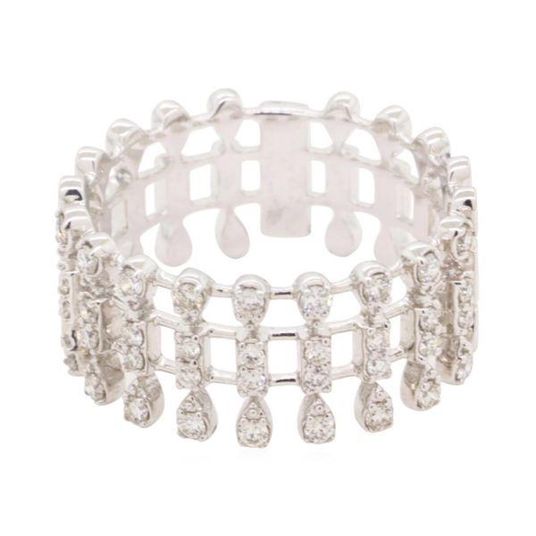 0.252 ctw Diamond Ring - 14KT White Gold