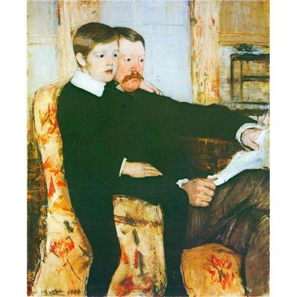 Mary Cassatt - Alexander J. Cassat and Son Robert Kelso Cassat