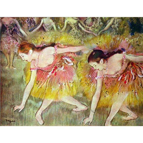 Edgar Degas - Ballet Dancers