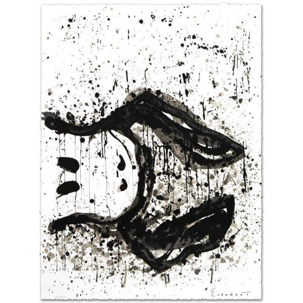 """""""Watchdog 3 O'Clock"""" Limited Edition Hand Pulled Original Lithograph by Renowned"""