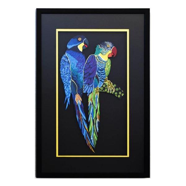 Two Parrots XII by Govezensky Original
